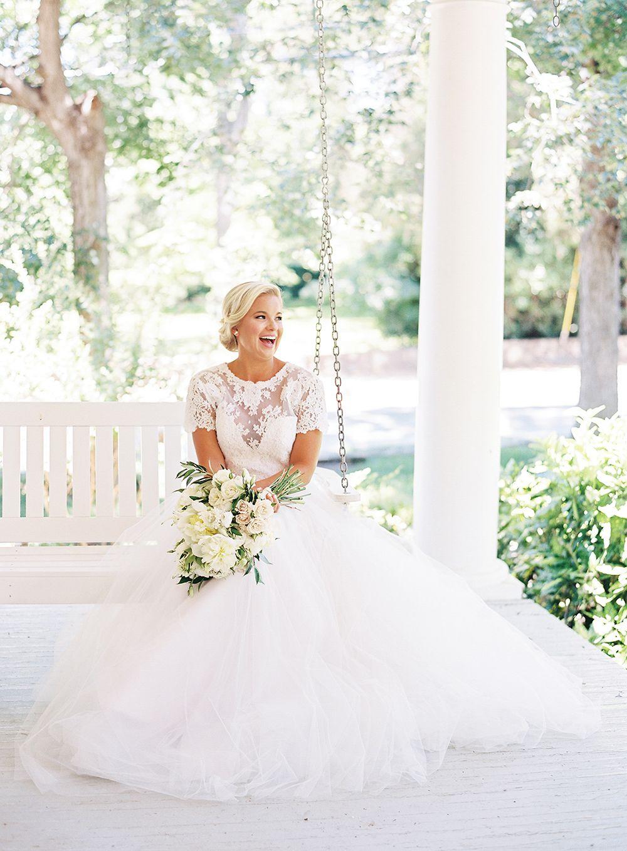 Lace Wedding Dress Southern Weddings Southern Wedding Inspiration Southern Charm Wedding