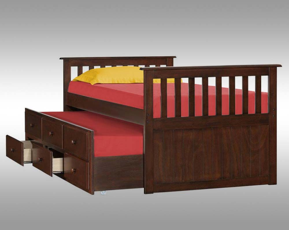 Simmons Mission Hills Captainu0027s Storage Bed