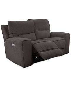 Superb Genella Power Reclining Loveseat With Power Headrest And Usb Bralicious Painted Fabric Chair Ideas Braliciousco