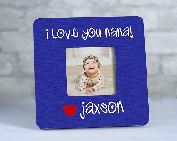 Nana Picture Frame, Nana Gift for Nana, Mother\'s Day Gift, I Love ...