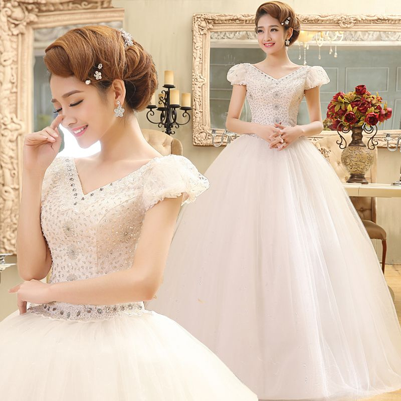 LYG-D13The New Marriage Gauze 2017 Fashionable Dress The