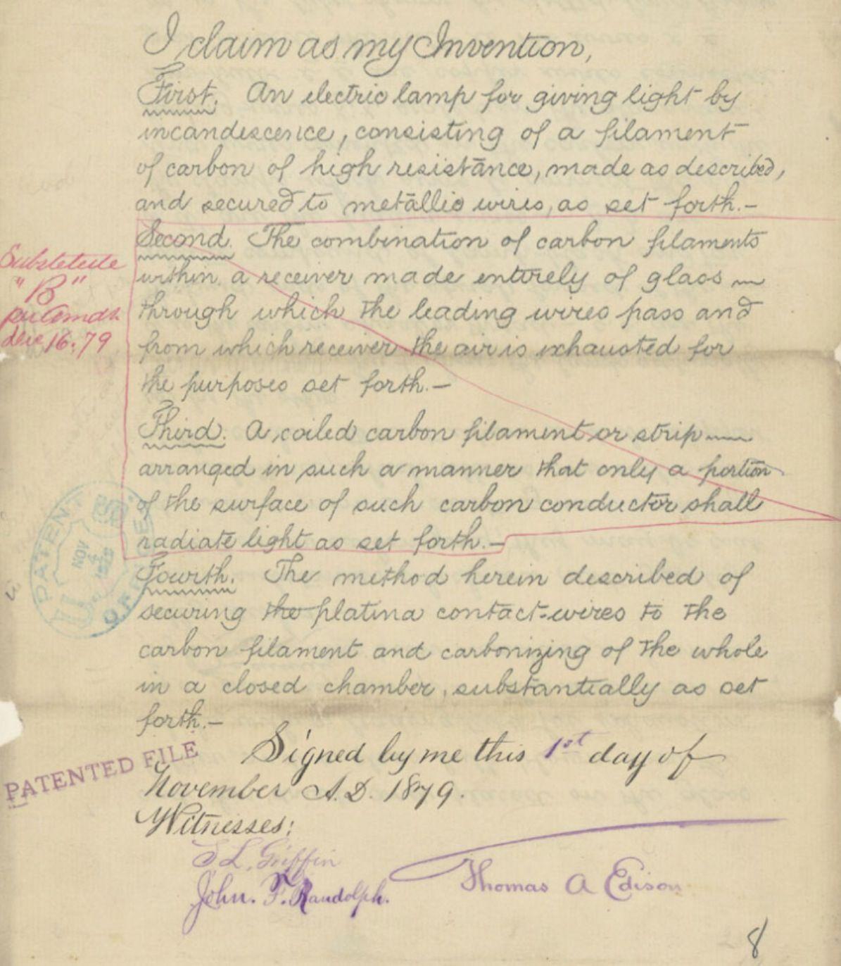 Primary Source Document On November 1 Thomas