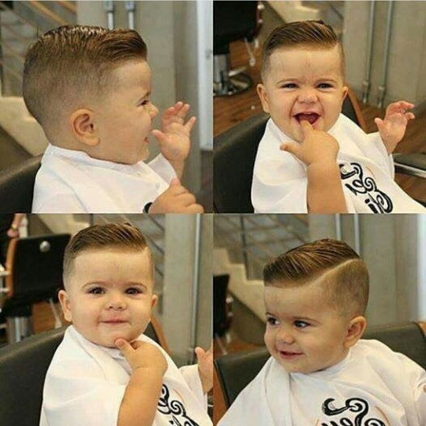 15 Super Trendy Baby Boy Haircuts Charming Your Little One S