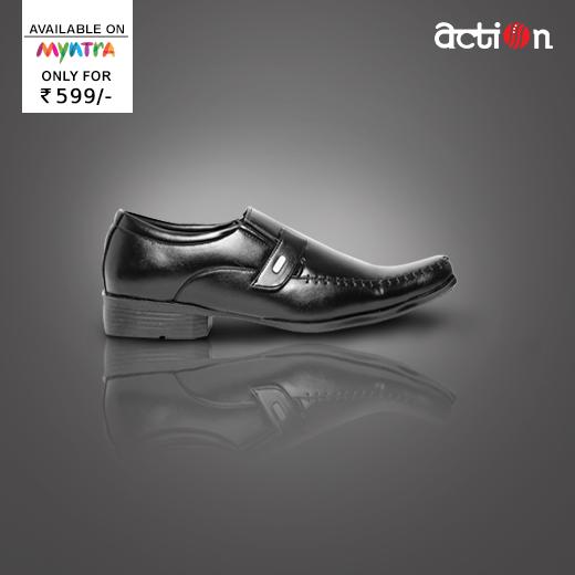 Black formal shoes, Formal shoes