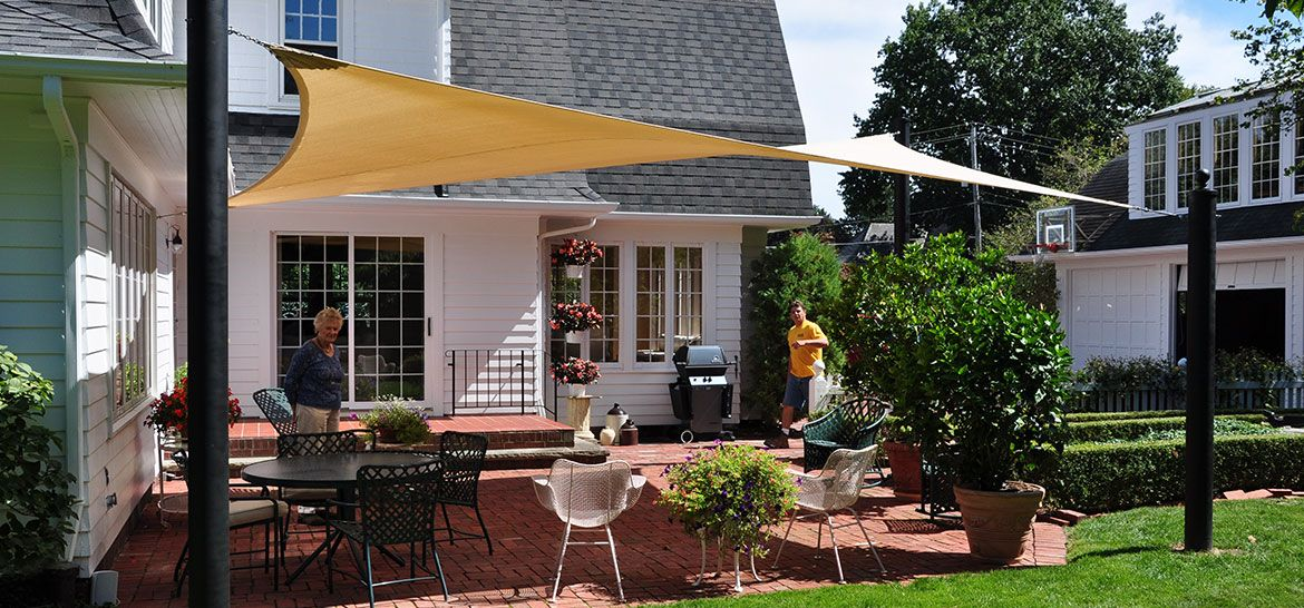 Custom Made Tension Patio Shade Sail