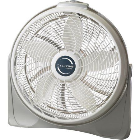 Lasko 20 inch Cyclone Power Circulator Fan LAS3520 White Walmart