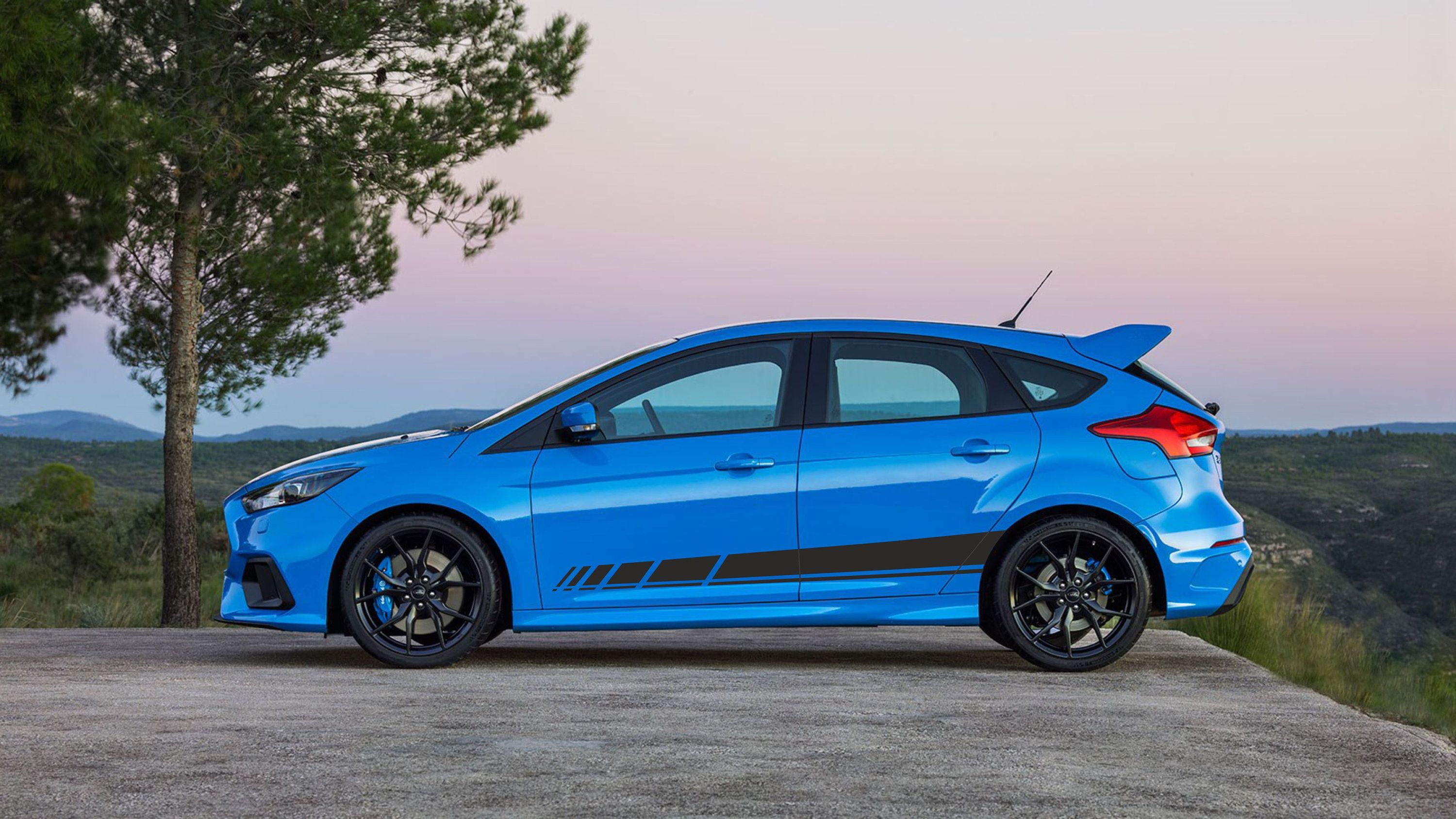 Ford Focus Sport Stripes Decals In 2020 Ford Focus Car Stripes