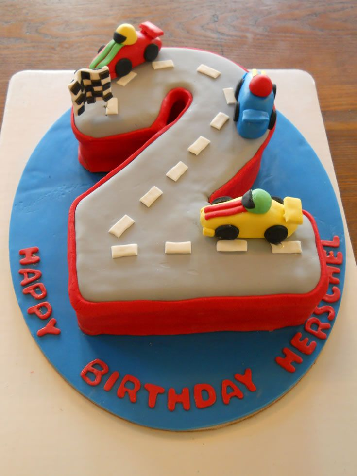 Cal Iii Possible 2 Year Old Birthday Cake 2 Year Old Birthday Cake Birthday Cake Kids Cars Birthday Cake