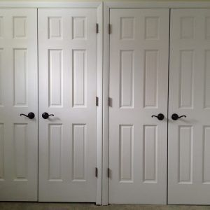 Double Swing Closet Door Hardware With Images French Closet