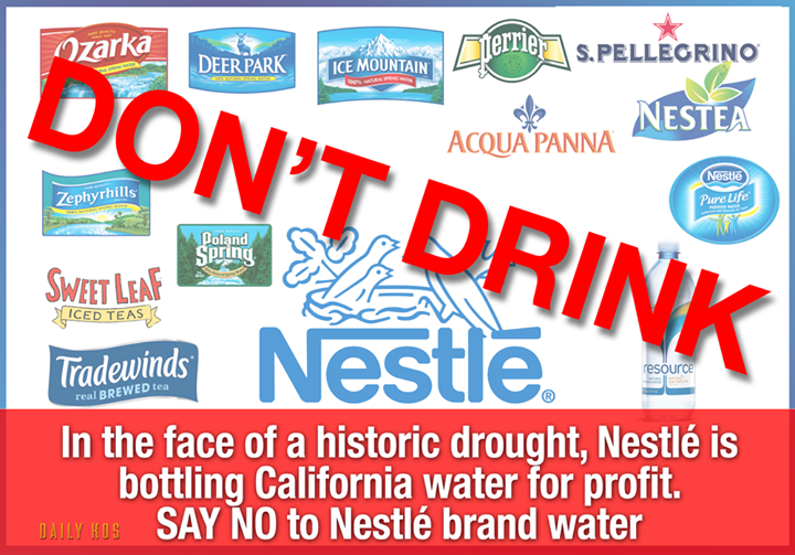 BOYCOTT Nestle Products: Especially bottled water | my board