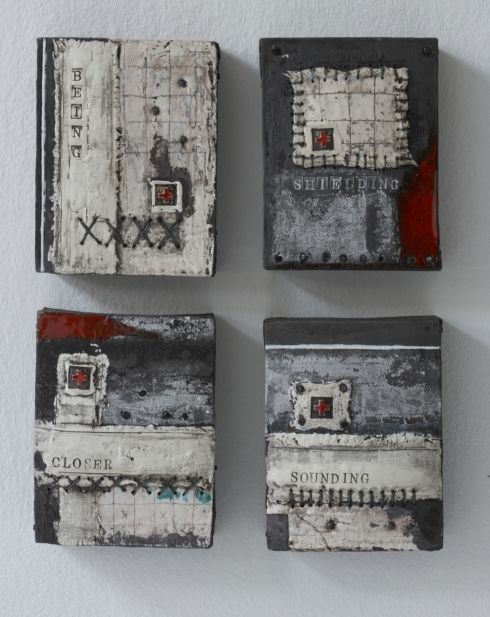 helen vaughan this is ceramic.... inspiration for wax encaustic?