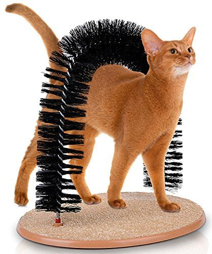 Kleeger Cat Scratcher And Grooming Arch Self Groomer And