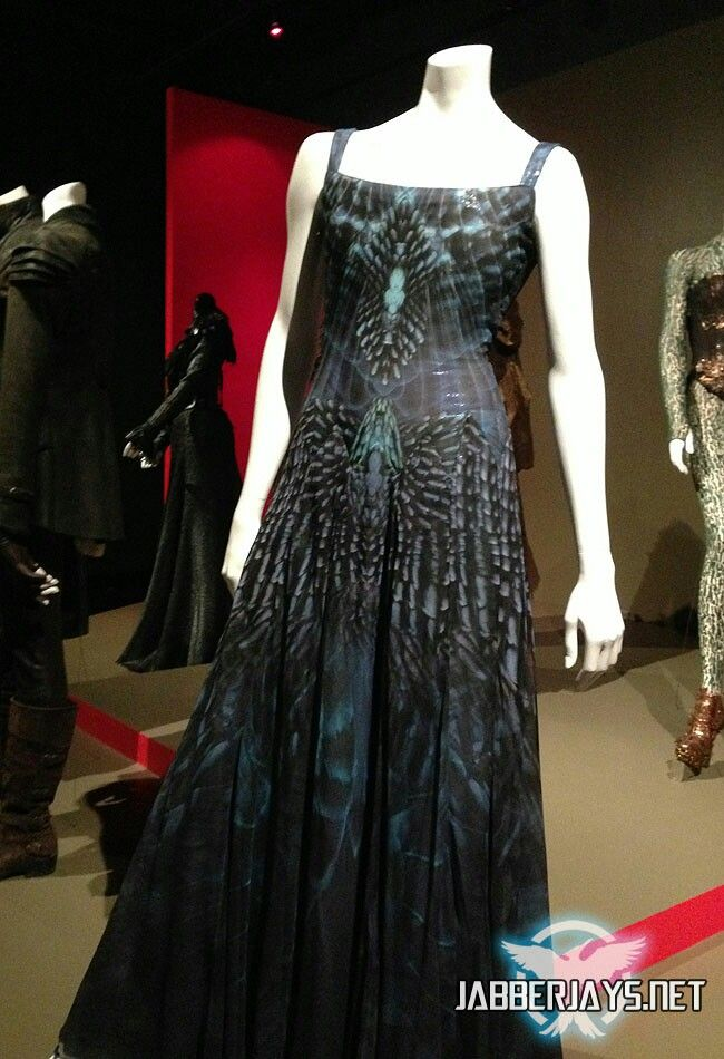 The Mockingjay dress from The Hunger Games: Catching Fire | open it ...