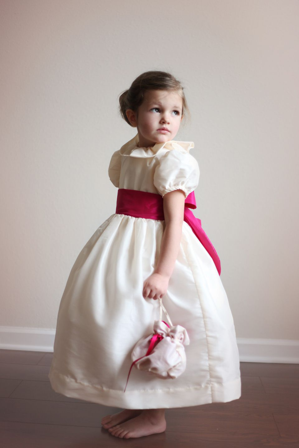 Little eglantine french haute couture for bridesmaids flowergirls