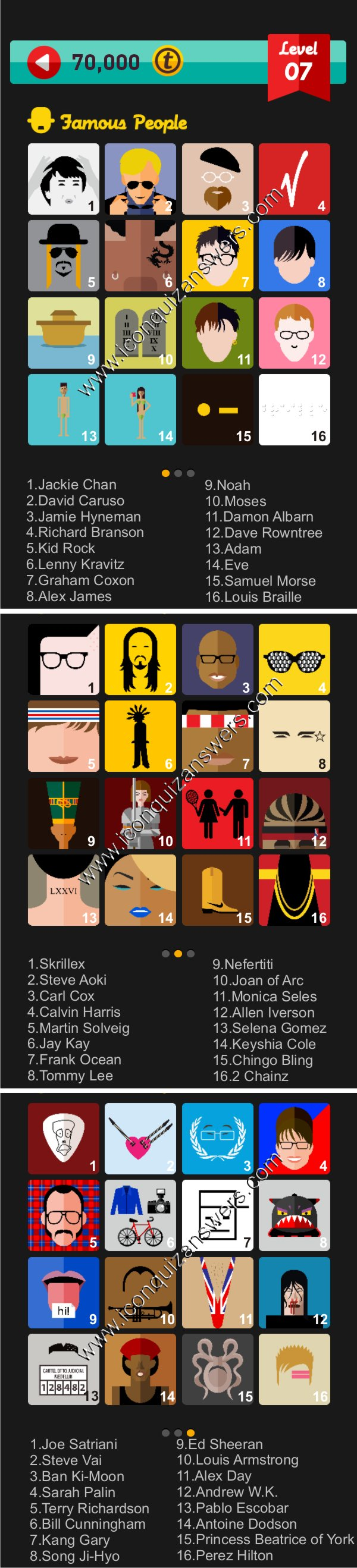Icon pop characters level 4 part 2