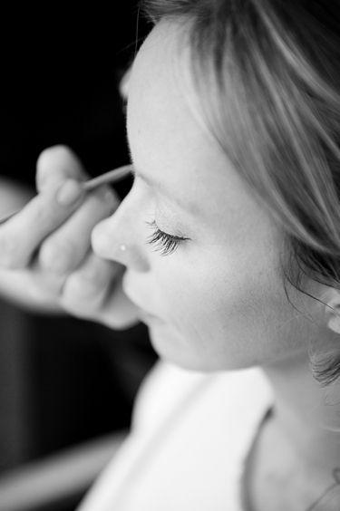 Bridal Beauty - False Lashes | The Wedding Community