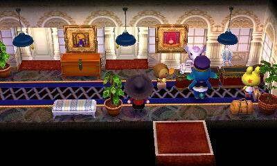 Hotel Lobby Happy Home Designer Animal Crossing Fun