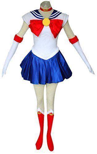Dazcos Sailor Moon Tsukino Usagi Kids Cosplay Costume (Child L)