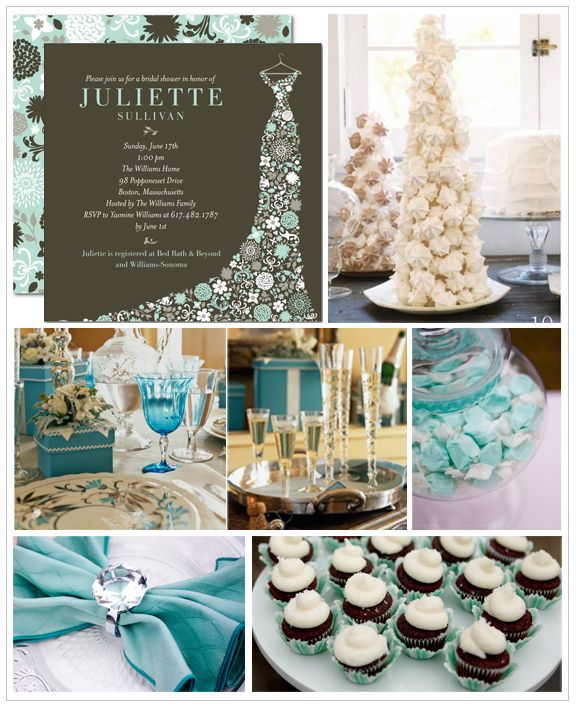 winter bridal shower inspiration love the colors