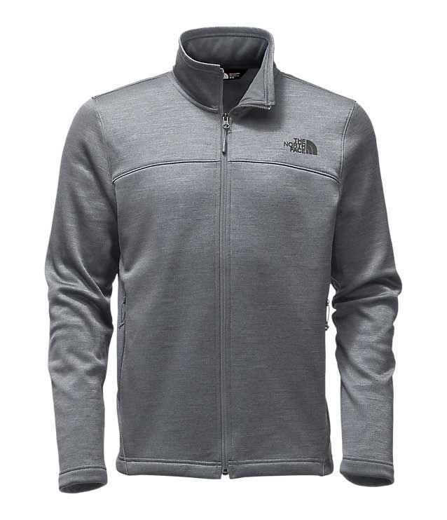 0f4b39c30 The North Face Schenley Full Zip Jacket for Men in TNF Medium Grey ...