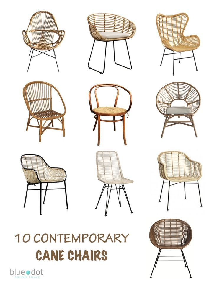 Contemporary 10 Stylish Cane Chair For Home And