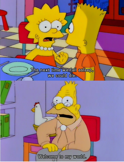 My favorite Simpsons quote of all time -