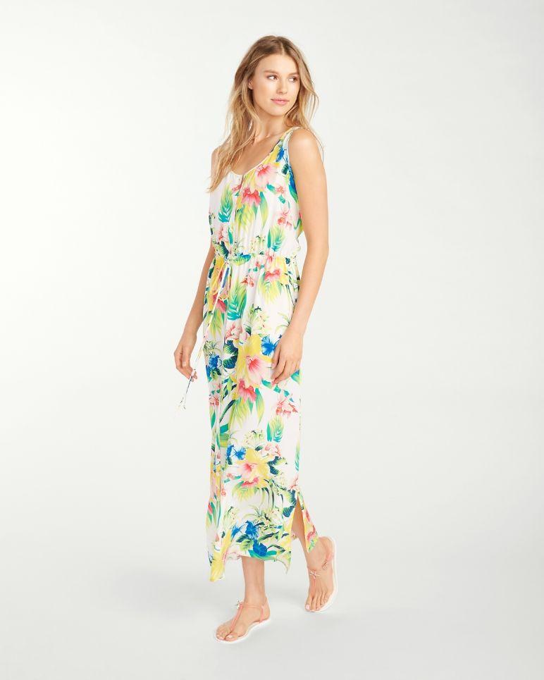 79016932eaab Fleur de Lite Silk Sundress Yes To The Dress, Drawstring Waist, New  Wardrobe,