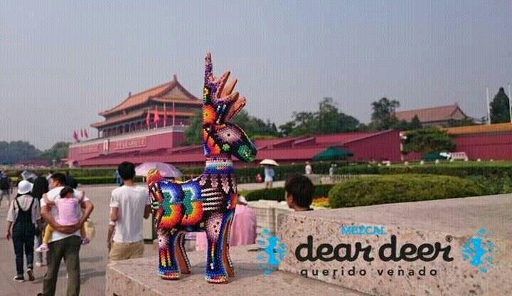 Entrada a la Ciudad Prohibida, China #TravelerDeer #MezcalDearDeer www.Facebook.com/MezcalDearDeer
