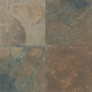 Daltile 12 In X 12 In California Gold Slate Floor And Wall Tile S70012121p At The Home Depot Slate Flooring Daltile Natural Stone Tile
