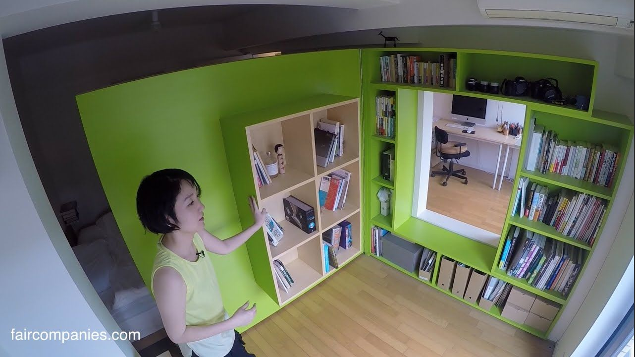 To avoid paying Tokyo rents for office space, architect Yuko Shibata ...