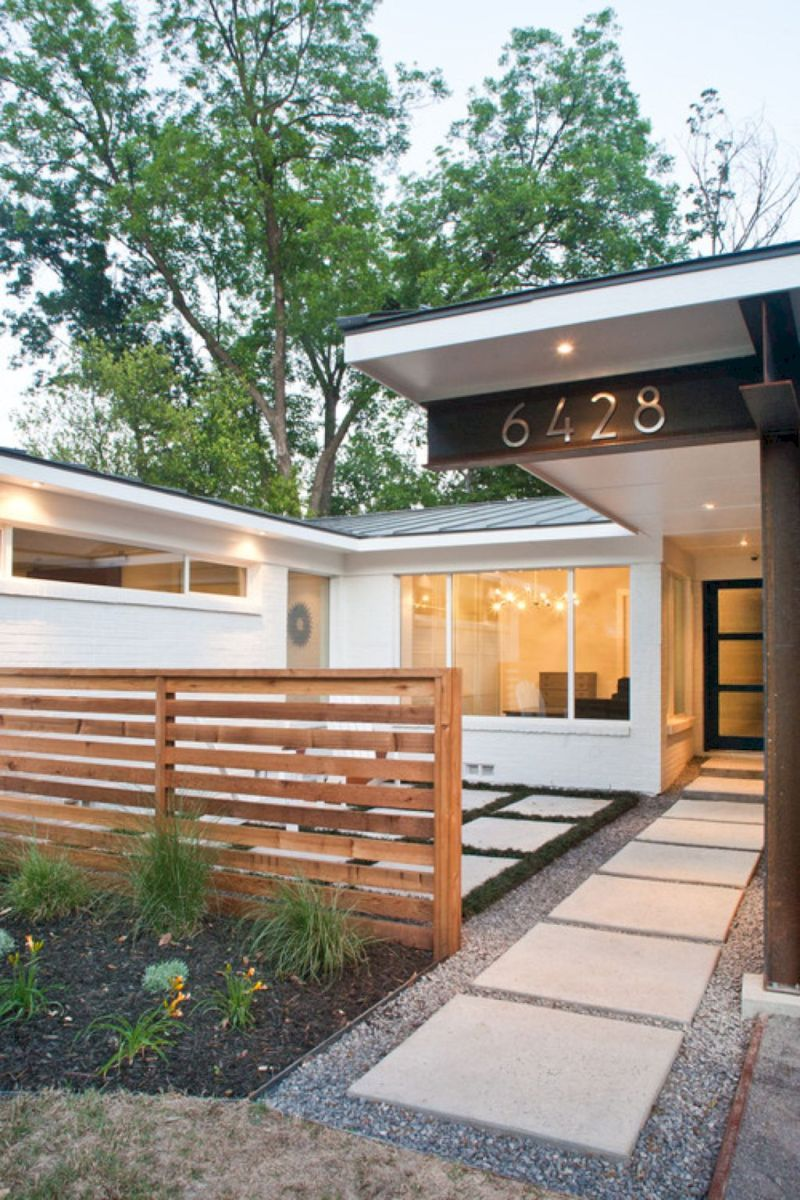 29 Front Yard Fence Remodel Ideas #modernfrontyard