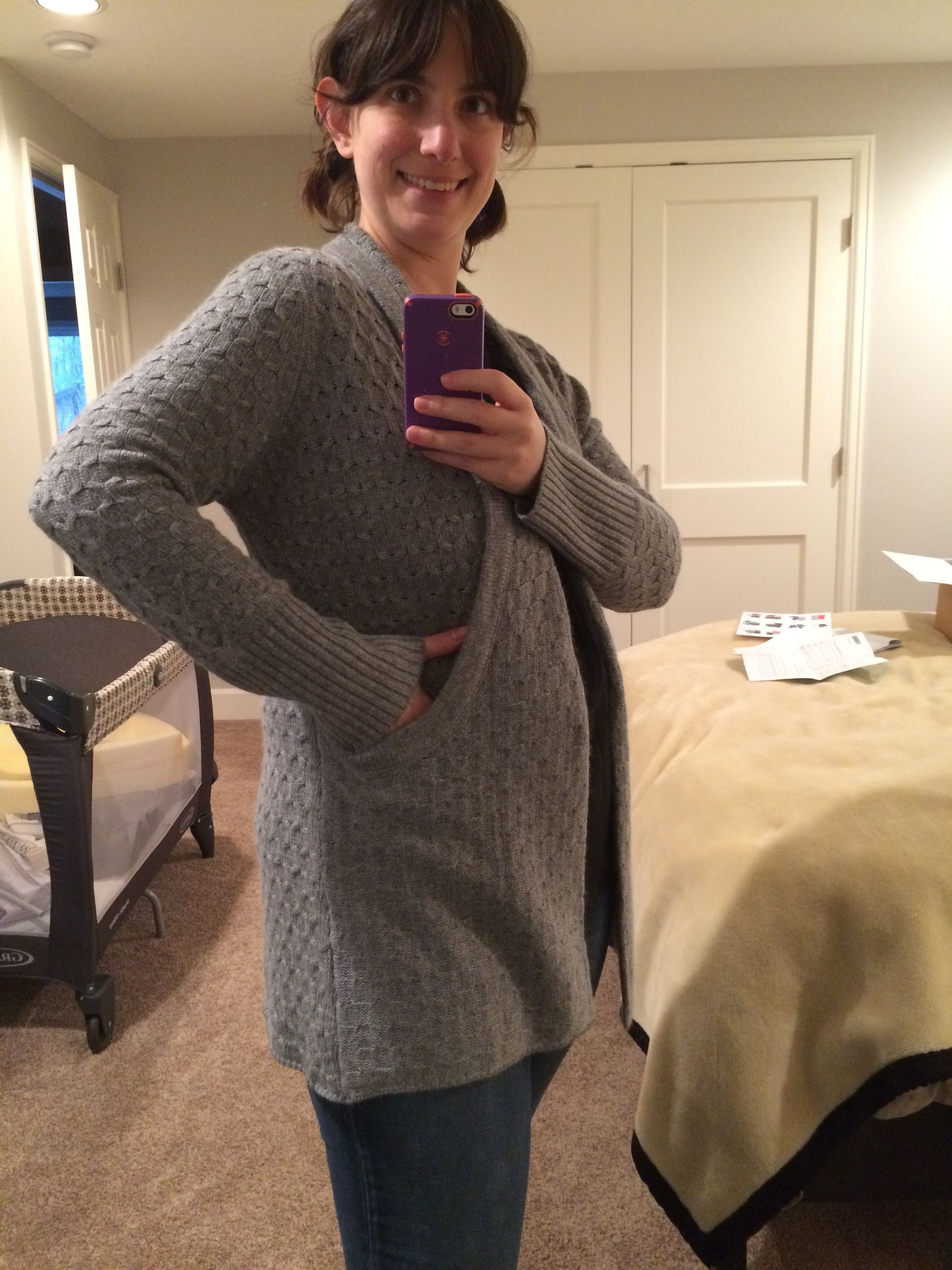 I need this Lawley Cable Knit Open Cardigan (BRIXON IVY) when it ...