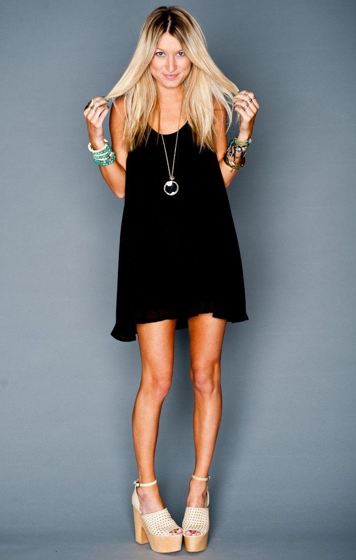 Montauk Tent Dress ~ Black Chiffon // Show Me Your Mumu  sc 1 st  Pinterest & Montauk Tent Dress ~ Black Chiffon // Show Me Your Mumu | :: JUST ...