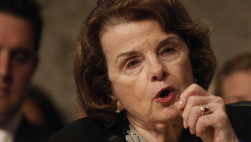 Dianne Feinstein Americans Guilty Until Proven Innocent Senate Troop Deployment