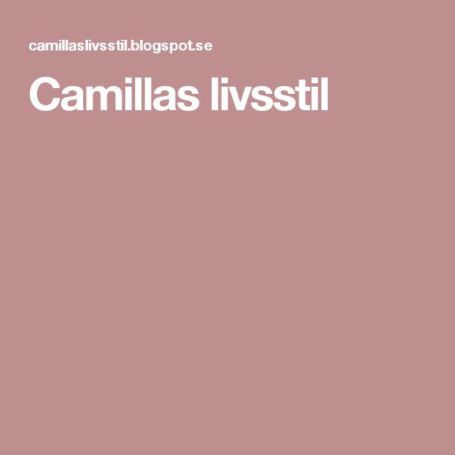 Camillas livsstil