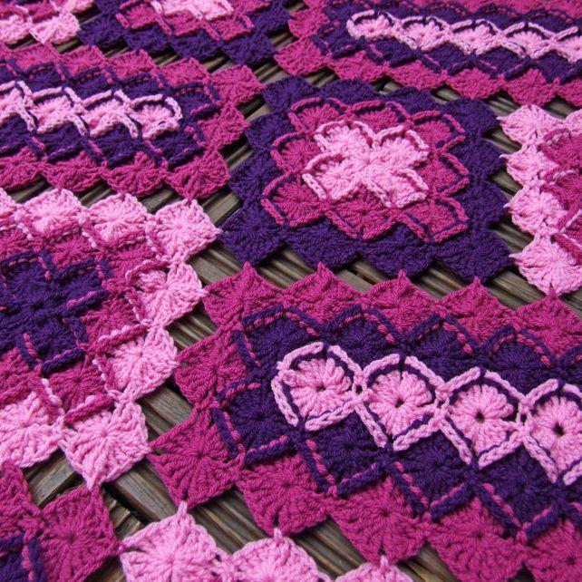Pdf Crochet Pattern Bavarian Lap Blanket Crochet Pinterest