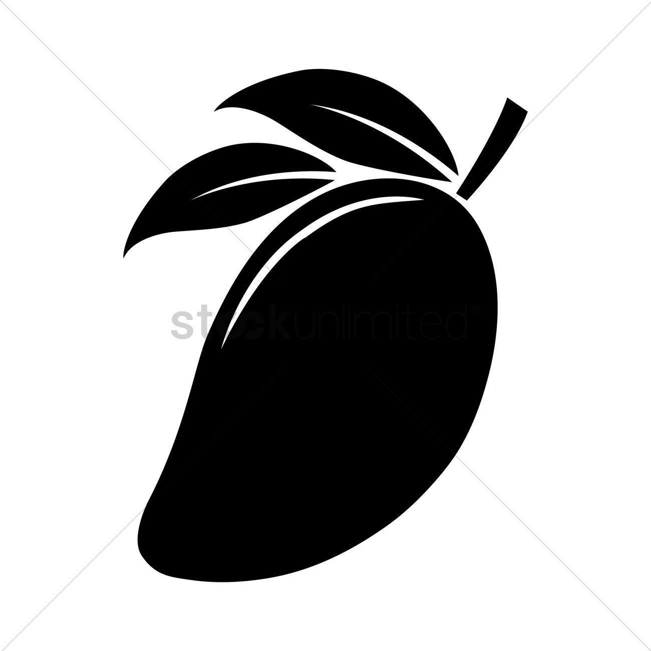 Silhouette Of Mango Vectors Stock Clipart Affiliate Mango Silhouette Vectors Clipart Stock Af Mango Vector Modern Graphic Design Stencil Designs