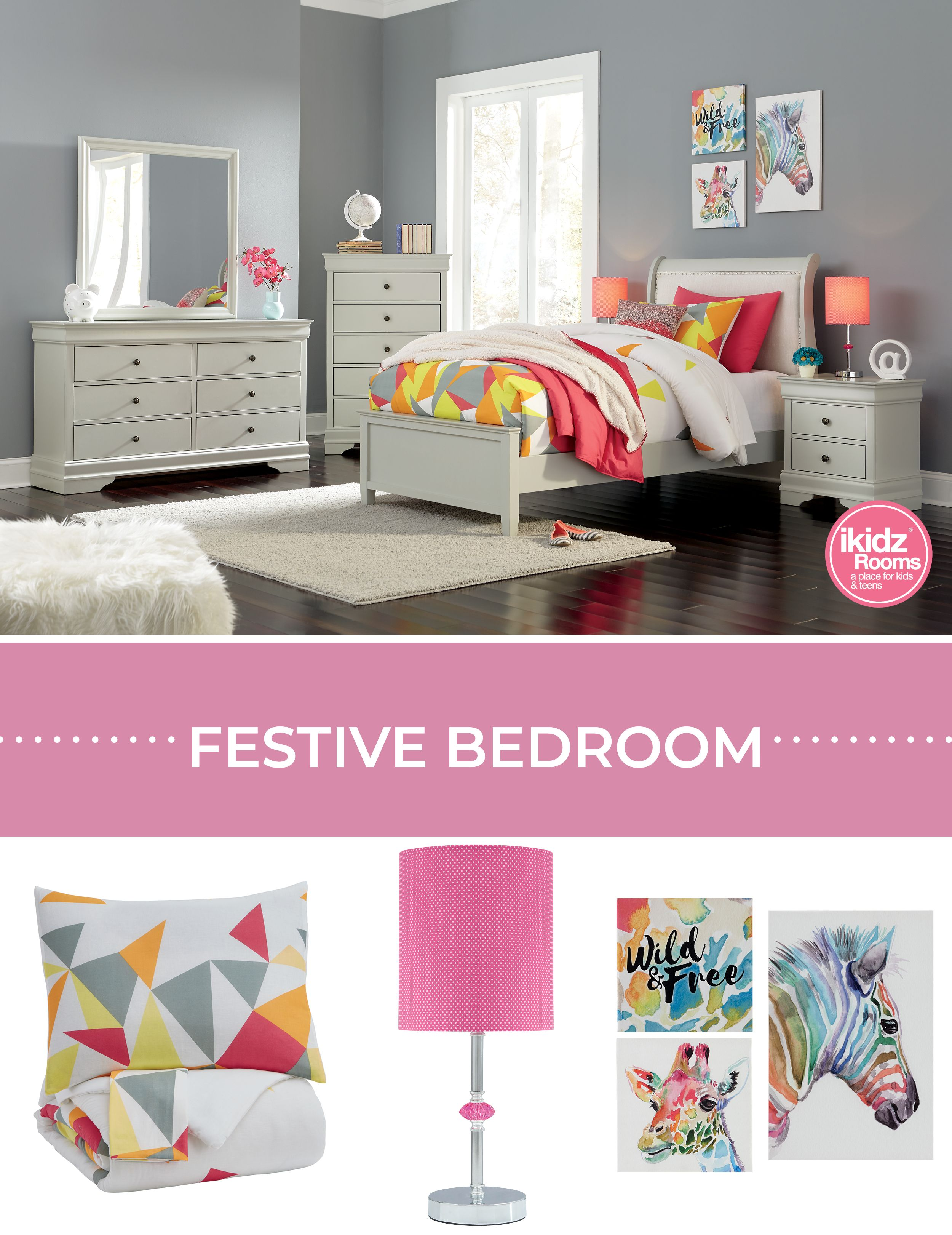 Maxie Multi Color Comforter Set By Ashley Furniture