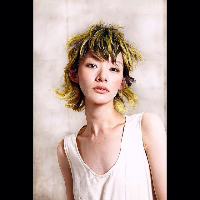 Artist:Wella #hair #model #hairstyles   Photo by Avant Garde Parlour, on Flickr.