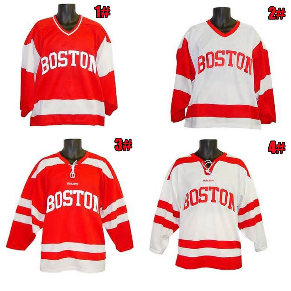 Find More Sports Jerseys Information about custom Personality ice hockey  jersey Boston University Terriers jersey sewn 15477a272