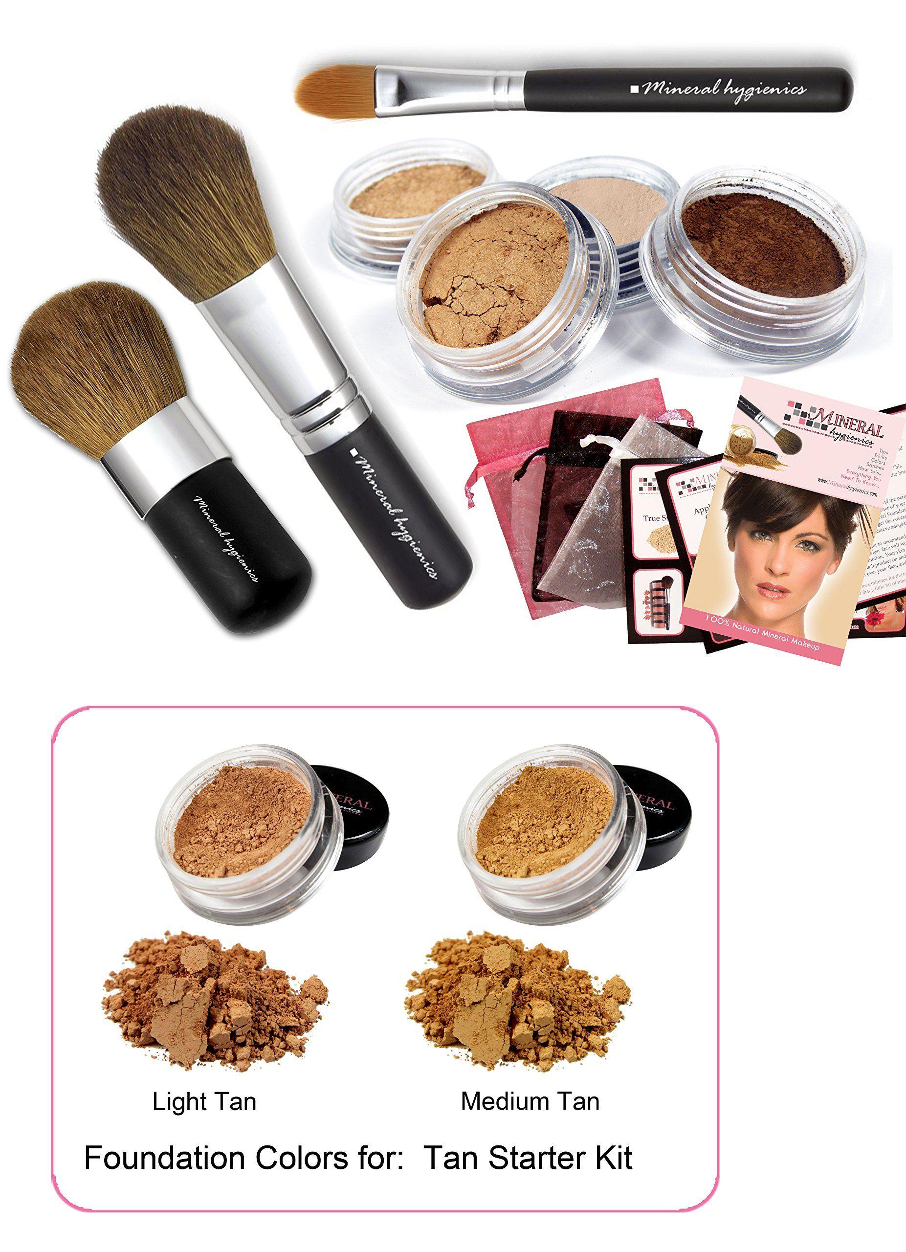 Mineral Hygienics Mineral Makeup Starter Kit Tan. Save