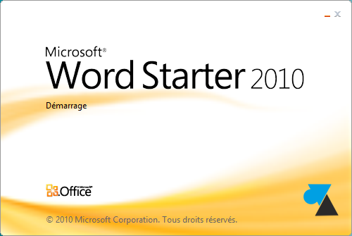 MICROSOFT 2010 TÉLÉCHARGER OFFICE CLUBIC STARTER