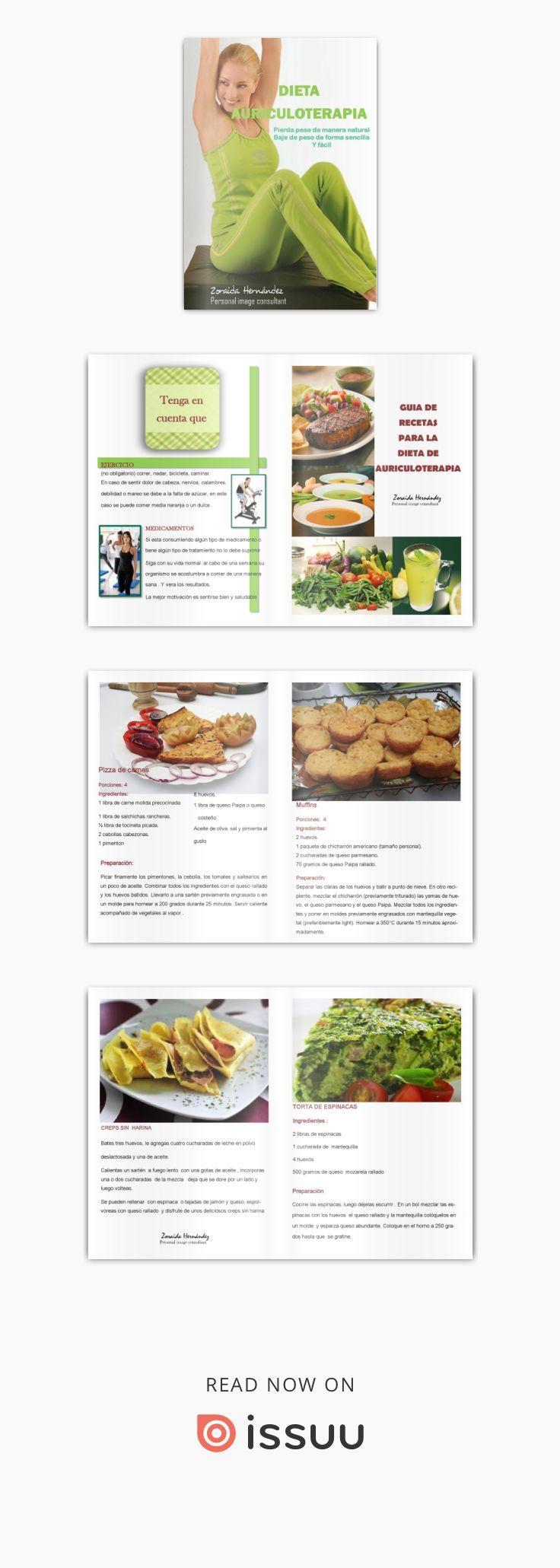Catalogo dieta auriculoterapia Dieta y recetas practicas para un estilo de  vida saludable
