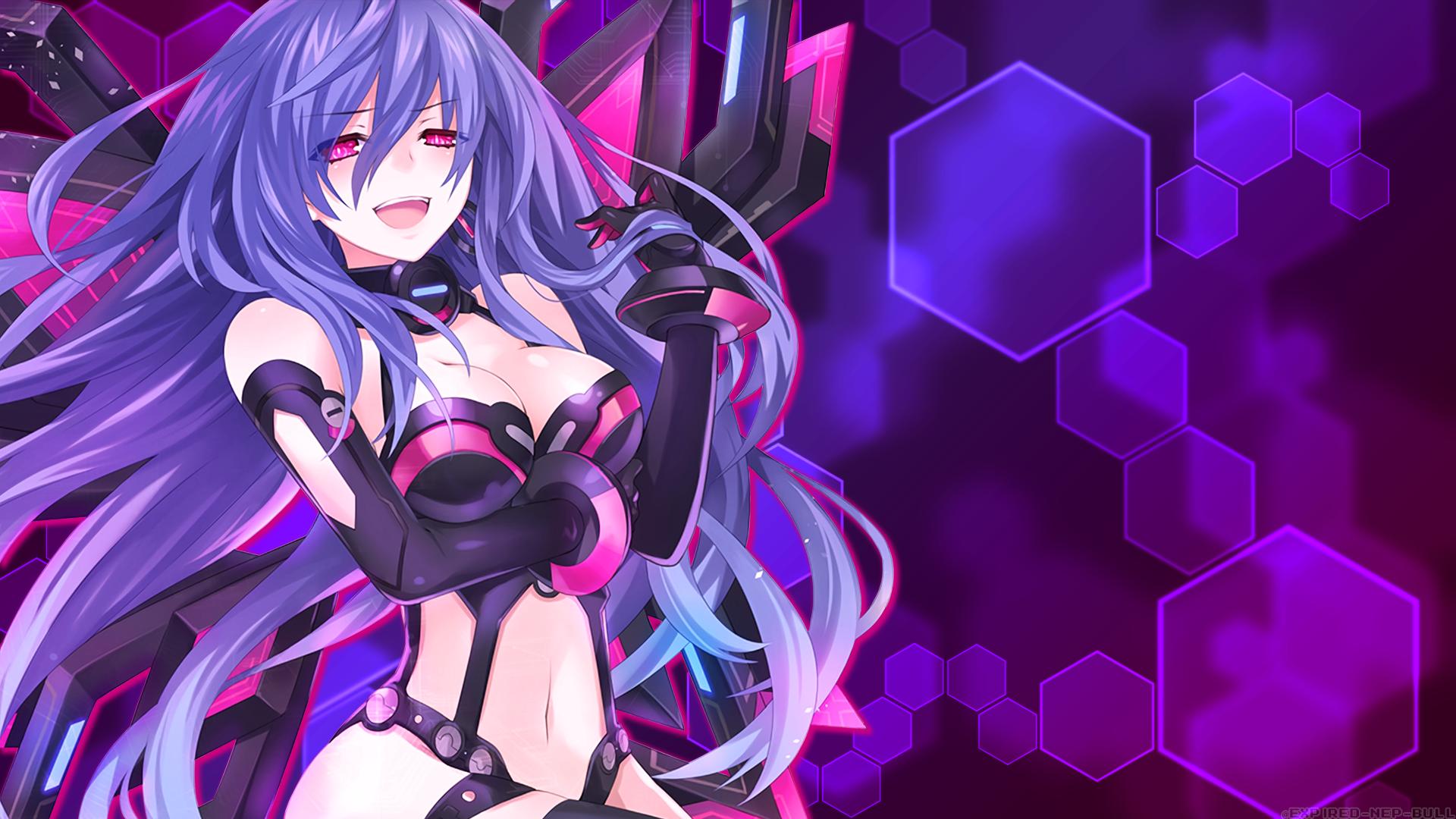 Hyperdimension Neptunia Iris Heart Pururut Anime Iris Pinterest