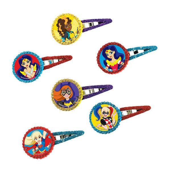 check dc super hero hair clips