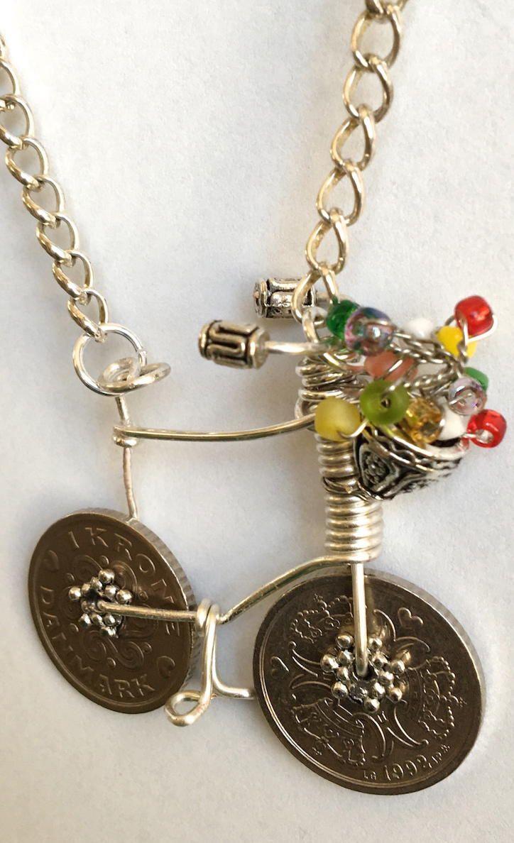 Copenhagen Coin Necklace Kerättyä Ja Kierrätettyä Pinterest