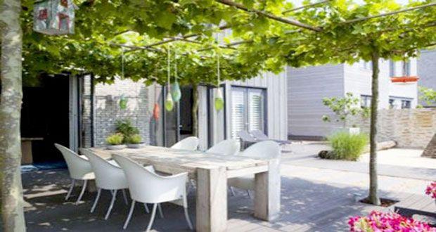 6 décorations de terrasse abritées par de la verdure | Budoucí ...