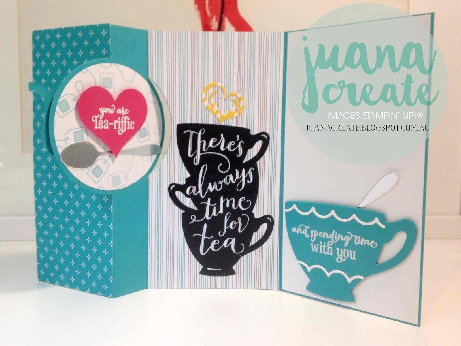 Juana Ambida Tea Time International Stampin Up Blog Hope