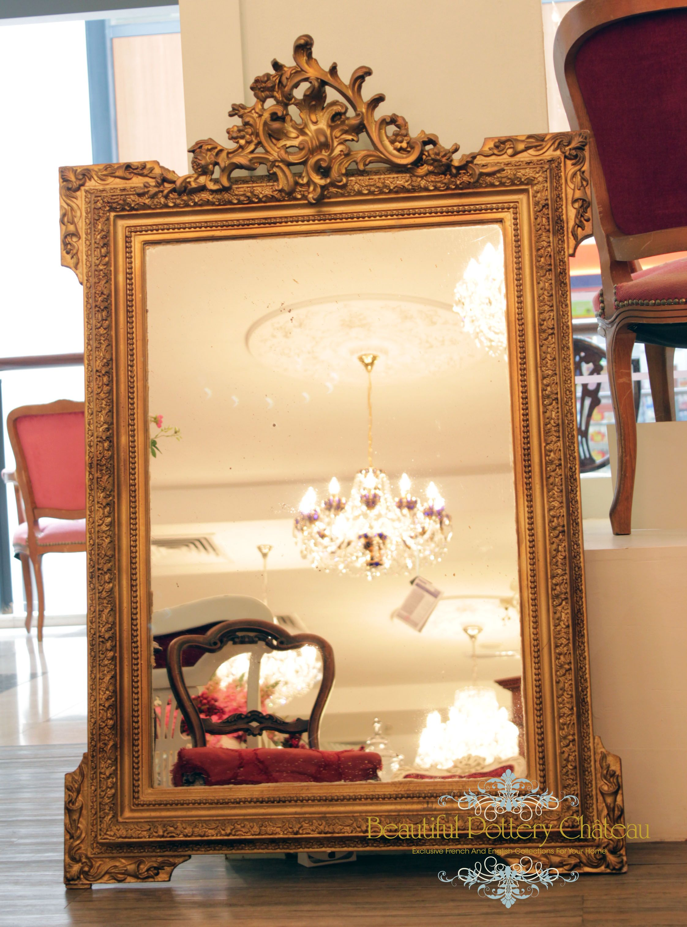 Furniture To Enjoy High Reputation In The International Market Beautiful Hand-carved Antique Armoire With Mirror—dutch Scene Armoires & Wardrobes