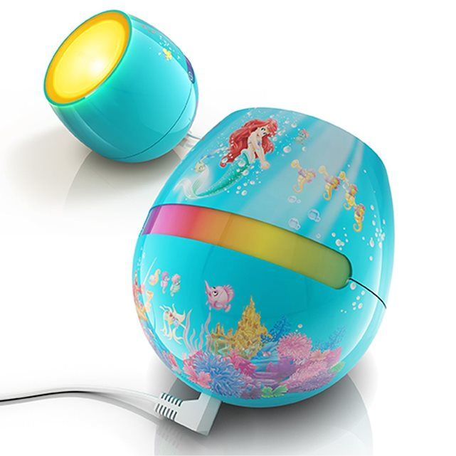 Lampe Living Colors Ariel La Petite Sirene Disney Philips Idee